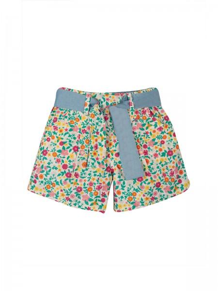 Shorts mit Blumenmuster, bunt von Frugi 2