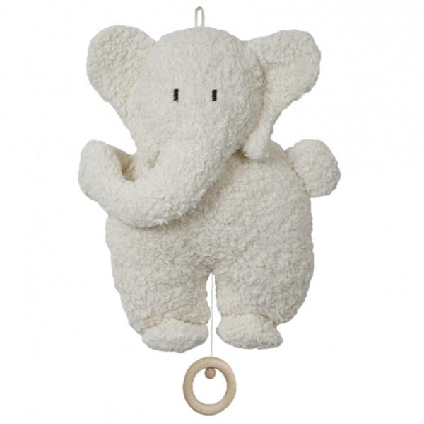 """Spieluhr """"Elefant"""", schadstofffrei, 100% Biobaumwollplüsch, Efie"""
