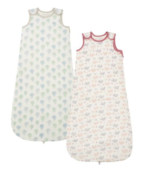 Leichter Baby Schlafsack, verschiedene Designs, 100% Baumwolle kbA, Sense Organics