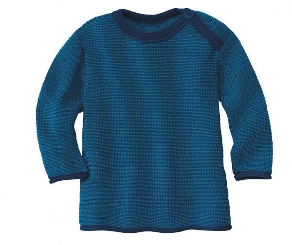 Melange-Pullover, marine-blau, Stadelmann Natur