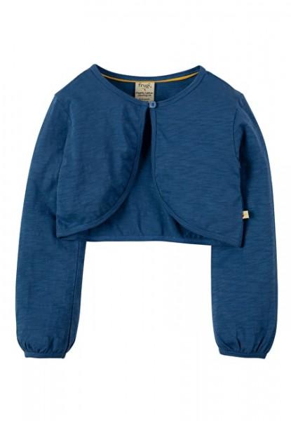 Bolero Cardigan, marine blue 1 Stadelmann Natur Online Shop