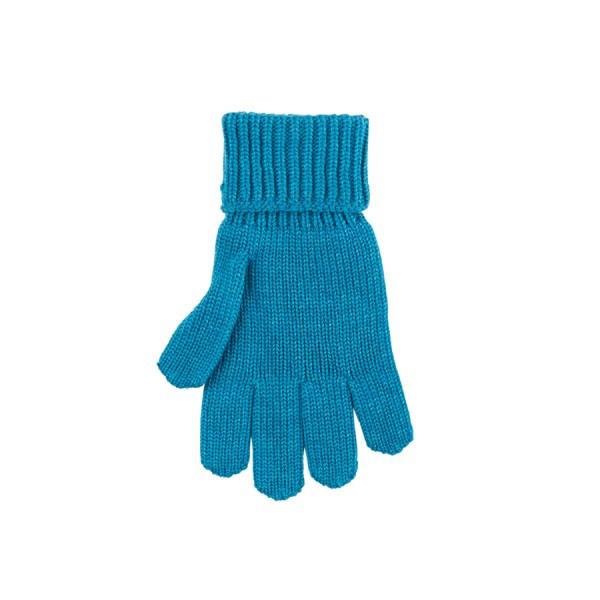 """Fingerhandschuhe """"Wolle-Seide"""", petrol 1 Stadelmann Natur Online Shop"""