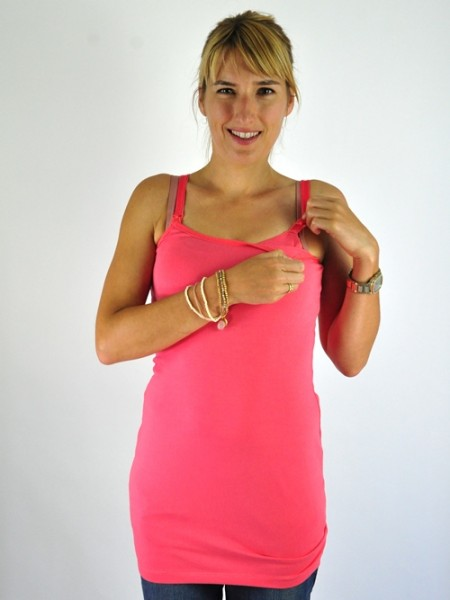 "Umstands- & Stilltop ""Stella"", coral, Paola Maria"