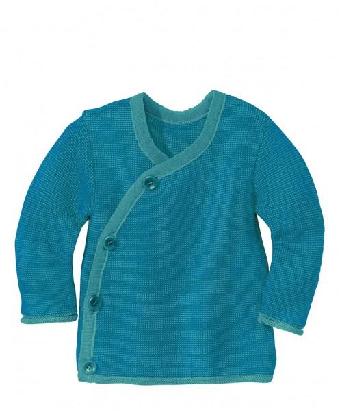 Melange-Jacke, blau-lagoon 1 Stadelmann Natur Online Shop