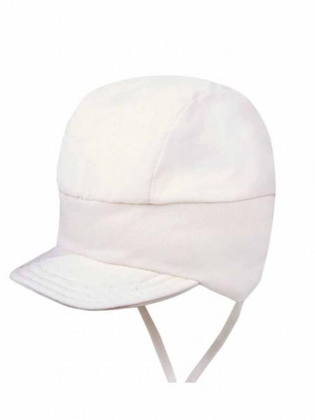 Baby-Hut, Sonnenhut, Sonnenschutz, Schildmütze, Bindemütze, einfarbig, schlicht, Ohrenklappen, 1103770-01