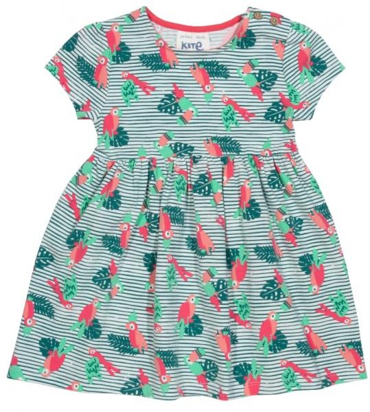 """Kleid """"Polly"""", grün/bunt, kite 100% Bio-Baumwolle"""