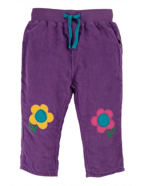 """Cordhose """"flower patches"""", lila/bunt Stadelmann Natur Online Shop"""