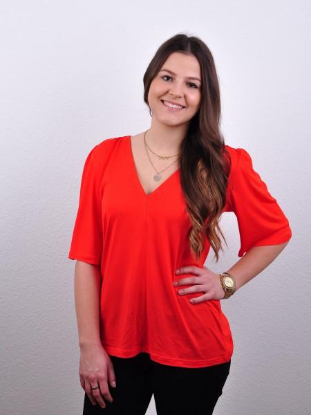 Blusenshirt Nour poppy red von Lana 1
