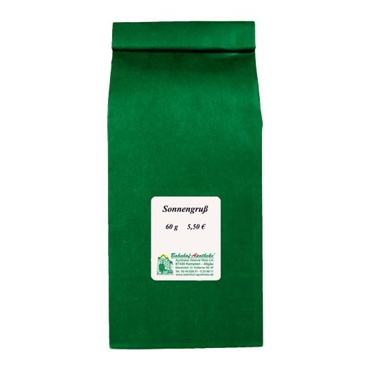 Sonnengruß Tee teilweise kbA, 60g Stadelmann Natur Online Shop