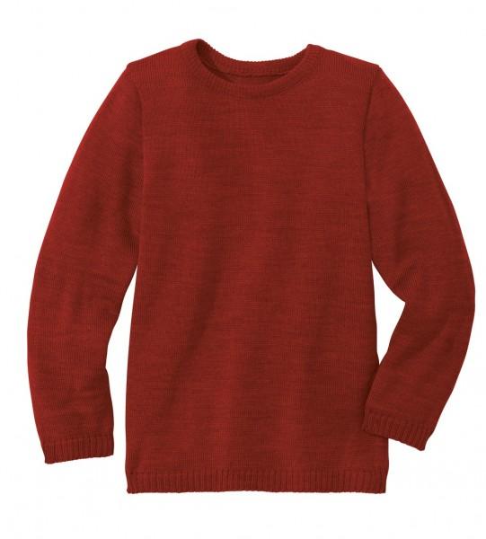 Basic-Strick-Pullover, bordeaux 1 Stadelmann Natur Online Shop