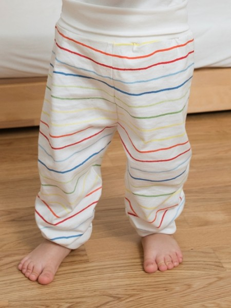 "Living Crafts, Baby Hose ""Cameleon"", natural/rainbow, 1, Stadelmann Natur"