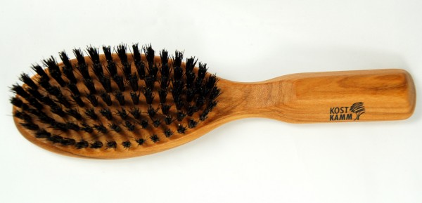 6019 Haarbürste, oval.1