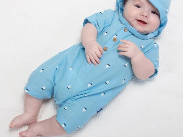 """Einteiler """"Segeln"""", hellblau von Kite Clothing"""