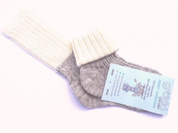 Wollsocken für Babys und Kinder von Grödo