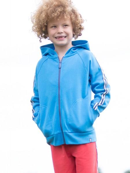 Side Stripe Hoody, blau von Kite Clothing 1