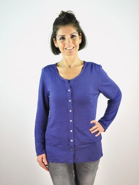 Cardigan, cobalt blue 1 Stadelmann Natur Online Shop