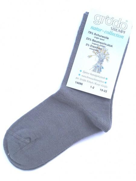 Bio Socken mit Wolle und Baumwolle von Grödo