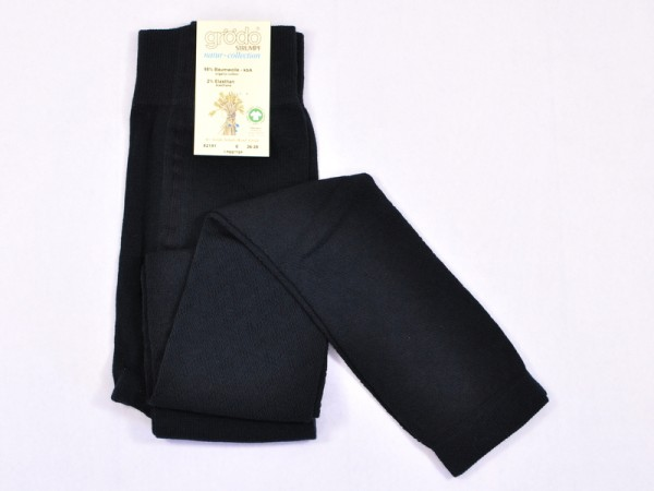 "Damenlegging ""Filetmuster"", schwarz"