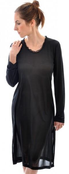 Nachthemd, langArm, schwarz ansehen und kaufen bei Stadelmann Natur Online Shop