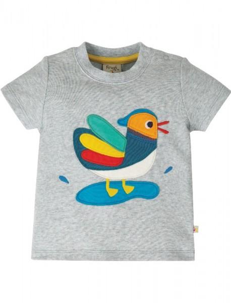 """Baby/Kleinkind T-Shirt """"Duck"""", grau, Stadelmann Natur"""
