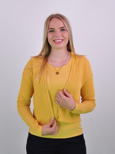"""Jacke """"Helena"""", sepia yellow von Lana 1"""