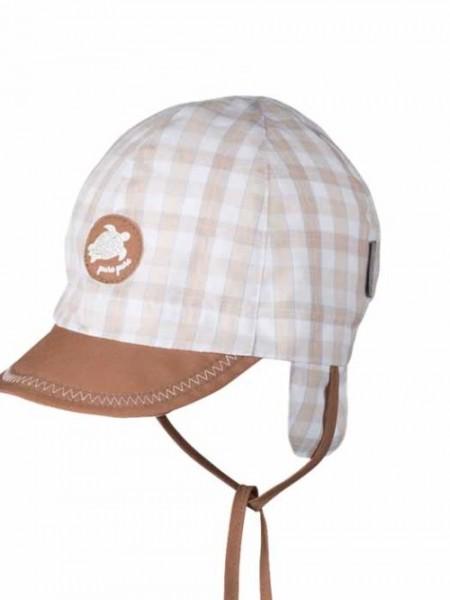 Baby-Schirmmütze, zimt 1 Stadelmann Natur Online Shop
