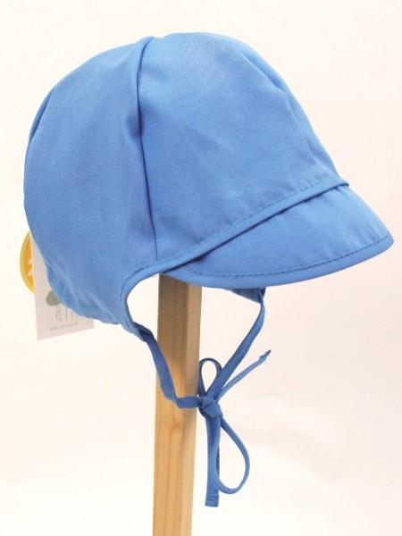 Baby-Schirmmütze, azur-blau 1 Stadelmann Natur Online Shop