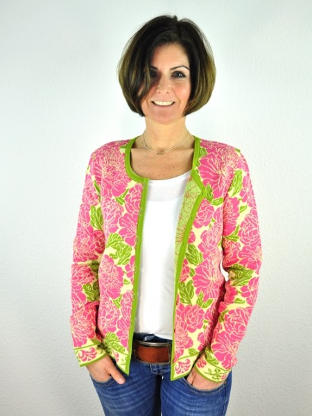"Jacke ""Lena"", Valentina yellow light 1 Stadelmann Natur Online Shop"