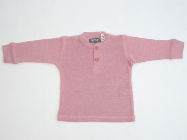 Babyknopfshirt rosa Alkena 1