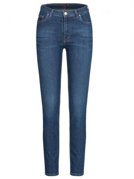 5-Pocket Skinny Jeans, HighWaist, Feuervogl