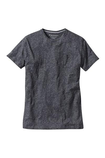 "T-Shirt ""Basic Pocket"", stone grey"