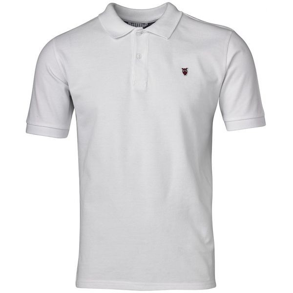 Poloshirt weiss Knowledge Cotton Apparel