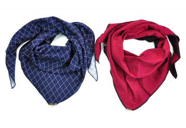 Dreieckstuch/Triangle scarf, verschiedene Farben_1
