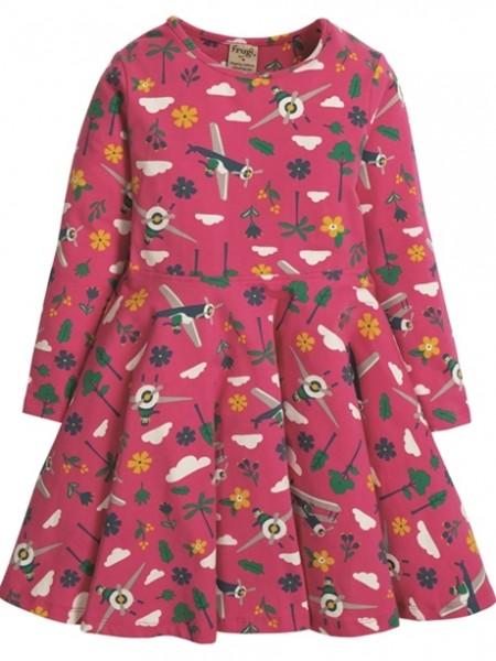 "Jerseykleid ""Flying High"", pink/bunt 1 Stadelmann Natur Online Shop"