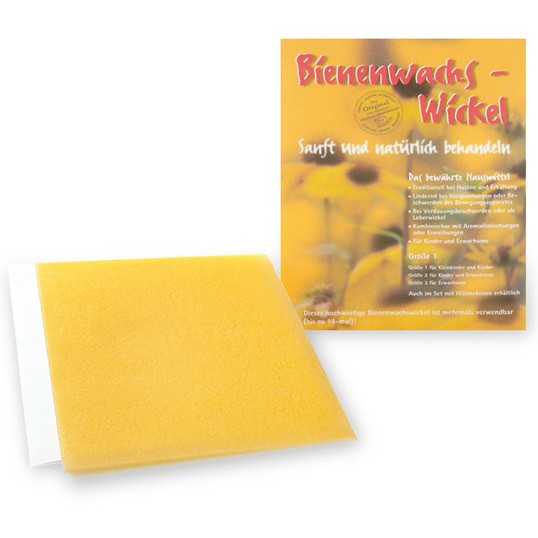Bienenwachs-Wickel