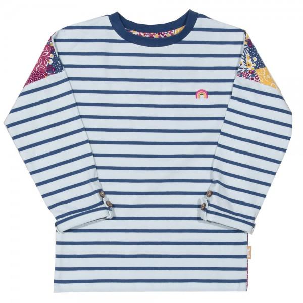 """Kinder-Langarmshirt """"Grow together"""", blau-weiß von Kite Clothing 2"""