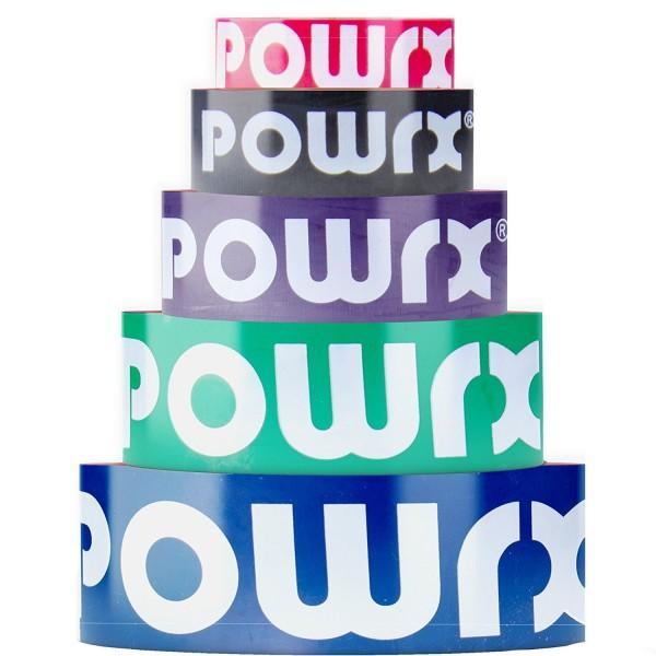 alle POWRX Bänder Farbübersicht