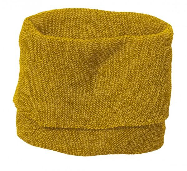 Schauch-Schal für Kinder, curry-gold von Disana