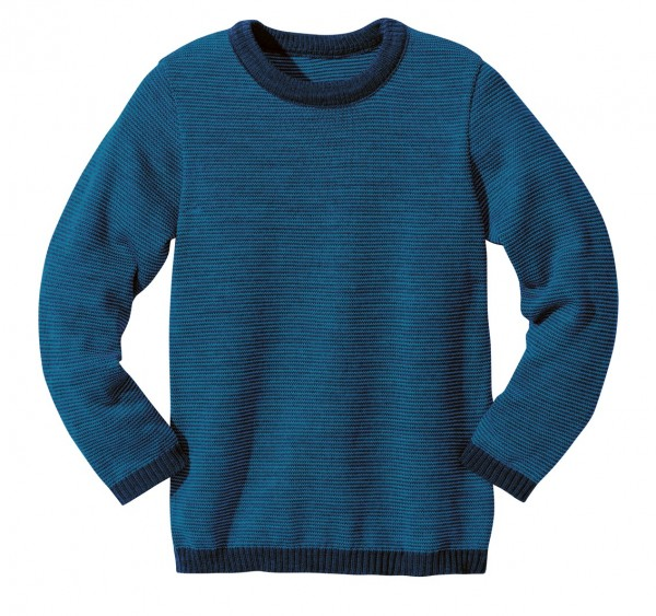 Basic-Strick-Pullover, marine-blau 1 Stadelmann Natur Online Shop