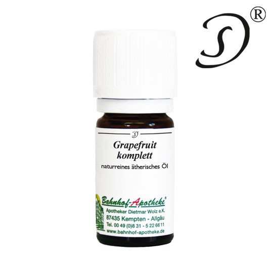 Grapefruit komplett, 10ml