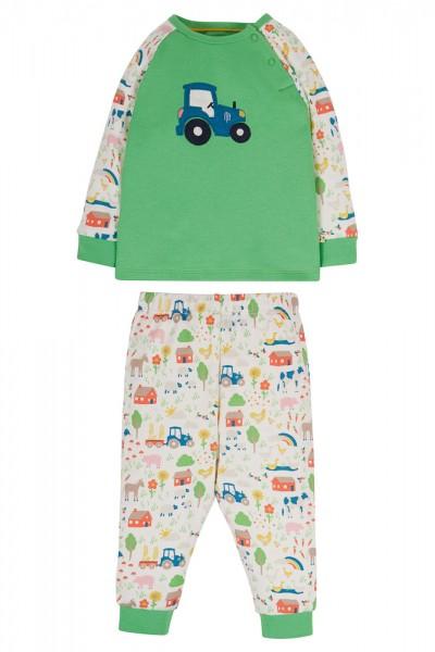 "Langarm-Pyjama ""Bulldog"" von Frugi 1"