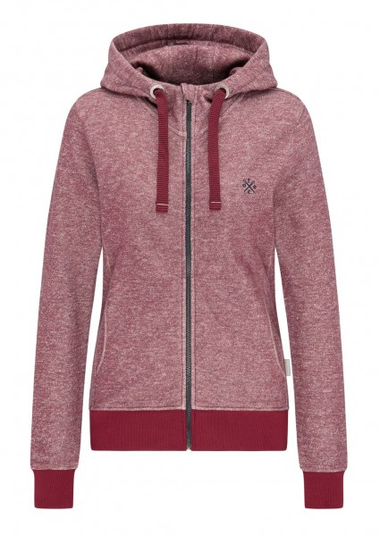 Sweatjacke #STRIPES, biking red/navy 1 Stadelmann Natur Online Shop