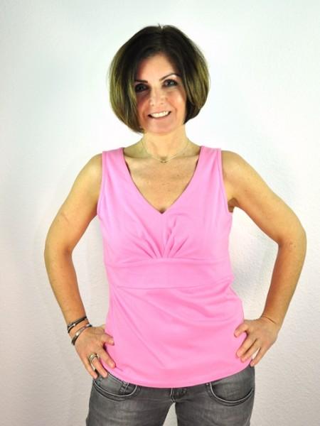 Top mit Bund, pink 1 Stadelmann Natur Online Shop