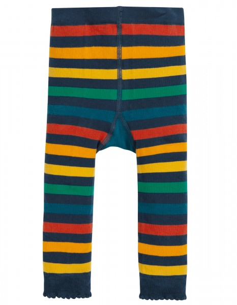 "Baby u. Kinder Leggings ""Rainbow Stripe"", bunt 1 Stadelmann Natur Online Shop"