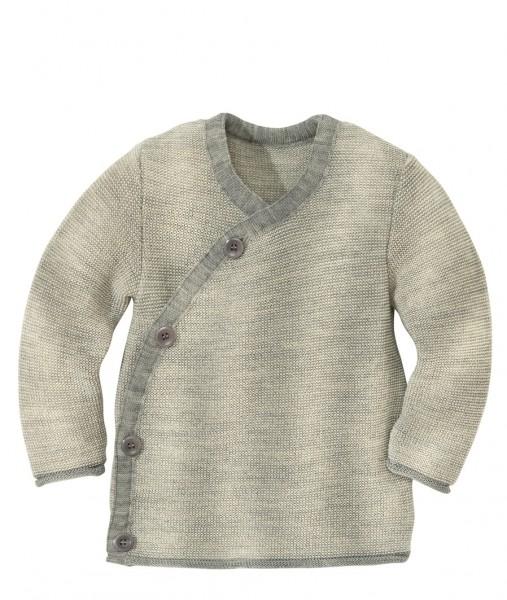 Melange-Jacke, grau-natur 1 Stadelmann Natur Online Shop